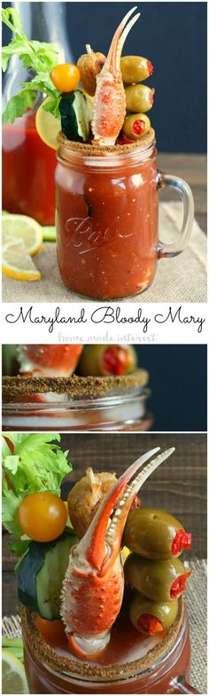 about Bloody marys on Pinterest | Bloody mary, Bloody mary recipes ...
