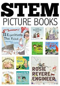 11 STEM Picture Books. Perfect for STEM learning.