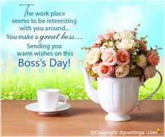 9 best happy boss day images on pinterest happy bosss day wish happy boss day greetings quotes happy bosss day great love quotes bosses day m4hsunfo