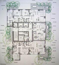 stefano boeri vertical forest floorplans - Google Search