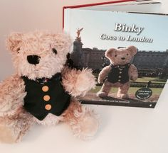 Binky goes to London / The Perfect sightseer's Gift – Book (and Bear) Review | Up The Spout