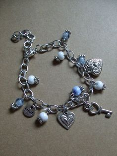 Armbandje als kadootje Heart Charm, Charmed, Bracelets, Jewelry, Jewlery, Jewerly, Schmuck, Jewels, Jewelery