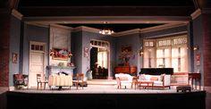 Fallen Angels. Pasadena Playhouse. Design by Tom Buderwitz.