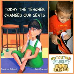 {Multicultural Children's Book Day} Today The Teacher Changed Our Seats