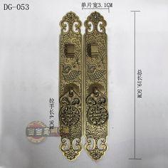 Aliexpress.com: Koop 2015 lade boekenkast handgrepen deuren chinese antieke bronzen hand gesneden koperen deurklink meubels accessoires straight 19 cm van betrouwbare keuken accessoires leveranciers op Personality home