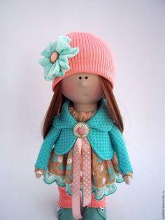 Купить Интерьерная кукла - комбинированный, кукла ручной работы, кукла, кукла в подарок, кукла интерьерная