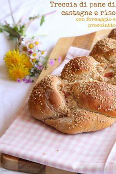 Treccia di pane di castagne