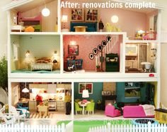 lundby doll house make over - Google Search