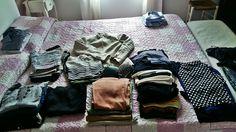 """Il 90% della valigia di una donna è composto da """"non si sa mai"""". Nel dettaglio: 3 maglioni, 1 felpa, 4 paia di pantaloni e 2 di jeans, 3 vestiti, 4 paia di shorts, 2 camicie, 2 costumi, 1 giacca, 20 magliette...#nonhoansia #vacanze #meno1 #soloandata #nonvedolora"""