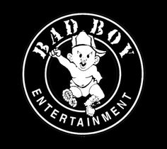 """is a record label founded in 1993 by producer/rapper/entrepreneur Sean """"Diddy"""" Combs.Today, it operates as a division of Universal Music Group, and is distributed by Interscope Records. Bad Boy Entertainment, Bad Boy Records, Hip Hop Logo, Sean Diddy, Boys Blog, Rolex Batman, Rap Wallpaper, Love N Hip Hop, Name Art"""