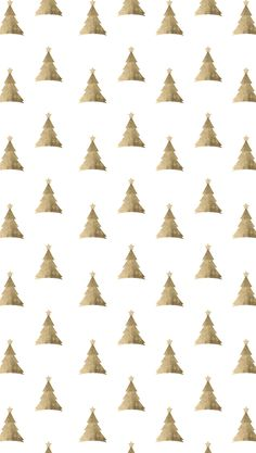 Iphone Gold Christmas trees Wallpapers