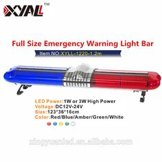 Best selling automotive full size 12m emergency warning signal dc12v led flashing strobe warning light bar for truck with memory flashing furciton switchgear used with aloadofball Image collections