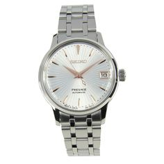 Buying The Right Type Of Mens Watches - Best Fashion Tips Stainless Steel Bracelet, Stainless Steel Case, Seiko Presage, Watches For Men, Female Watches, Chronograph, Seiko Watches, Watch Sale, Lady