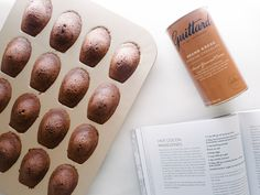 Guittard's Hot Cocoa Madeleines