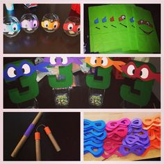 Teenage Mutant Ninja Turtles Birthday Party Ideas - The Best of Diy Ideas Turtle Birthday Parties, Ninja Turtle Birthday, Ninja Turtle Party, Ninja Turtles, 5th Birthday, Birthday Ideas, Mutant Ninja, Teenage Mutant, Ninja Party