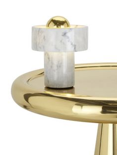 Buy Stone Table Lamp by Tom Dixon more online today at The Conran Shop, the home of classic and contemporary design. Tom Dixon, Copper And Brass, Brass Metal, Bronze, Lamp Socket, Design Moderne, Light Fittings, Light Table, Interiores Design