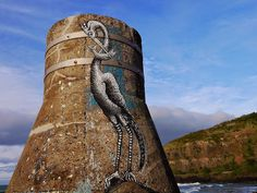 Phlegm - Second beach, St Clair, Dunedin, New Zealand