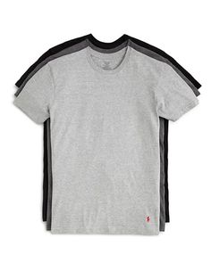 Polo Ralph Lauren Men's 3-Pack Assorted Crewneck Tees $34 FREE SHIPPING OR PICK UP