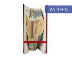 Folded Book Art Pattern - Eevee - 150 Folds - Including manual - Bookfolding Pattern - Folded Book Pattern - Book Folding pattern