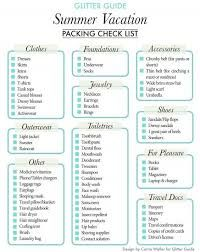 Image result for hotel weekend packing list for teens
