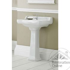 Ceramic Pedestal Basin Arlington 595 X 470mm