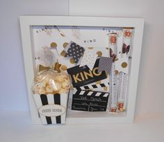 Viel Spaß im Kino! Gutschein mal anders For going to the cinema The post Viel Spaß im Kino! Gutschein mal anders appeared first on Cadeau ideeën. Easy Diy Gifts, Creative Gifts, Cute Gifts, Gifts For Mom, Handmade Gifts, Men Gifts, Diy Birthday, Birthday Presents, Diy And Crafts