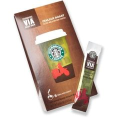 Starbucks VIA Ready Brew Instant Coffee - Package of 8