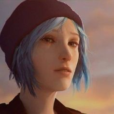 Blue haired Chloe is a blessing~!