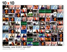10x10 to visually follow the news