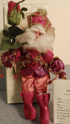 "ON EBAY FOR RIKKI'S REFUGE THROUGH SATURDAY 2/28/15 ""Mark Roberts Valentine Rose Fairy, small."" VIEW AND BID HERE: http://www.ebay.com/itm/Mark-Roberts-Valentine-Rose-Fairy-small-/321675830054?pt=LH_DefaultDomain_0&hash=item4ae55fa326 100% of all auction proceeds benefits Rikki's Refuge!"