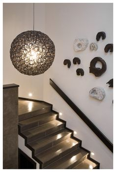 Residential Project by Adriana Hoyos - Casa Blanca Perez Hoyos #luxury #staircase #interiordesign #hoyos