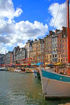 Honfleur, France- One of my favorite places I got to visit in France Tourist Places, Places To Travel, Oh The Places You'll Go, Places To Visit, Travel Around The World, Around The Worlds, Omaha Beach, Normandie France, Honfleur