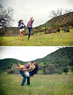 DeAnna Pappas + Stephen's Engagement Photos - country :)