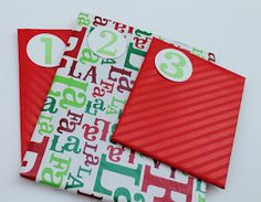 Make it Cozee: Paper Rings Advent Calendar Paper Rings, Advent Calendar, Childhood, How To Make, Infancy, Early Childhood