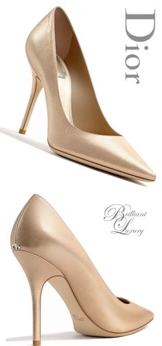 Brilliant Luxury * Dior Pump Fall - Shoes New Style - Luxury Shoes - Shoes New Style - Luxury Shoes Pretty Shoes, Beautiful Shoes, Pumps Heels, High Heels, Zapatos Shoes, Mocassins, Killer Heels, Schmuck Design, Hot Shoes