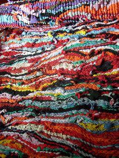 weaving rags