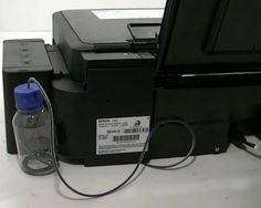 Адаптация для слива отработанных чернил на принтере Epson L355