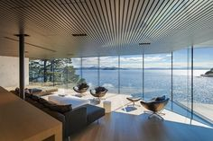 Patkau Architects Studio, Tula House, Columbia Britannica, Canada, 2012