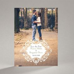 Save The Date Photo Ideas | take a look at our filigree crest save the date magnet which is ...