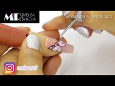 Mariposa en 3D GEL UÑAS BALLERINA/COFFIN - YouTube