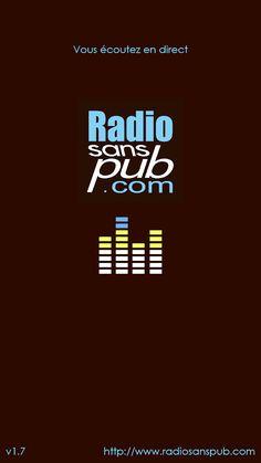 Radio sans pub– Capture d'écran