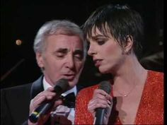 Liza Minnelli & Charles Aznavour - LE TEMPS (There is a time) 1991