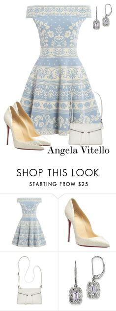 """""""Untitled #983"""" by angela-vitello on Polyvore featuring Alexander McQueen, Christian Louboutin, Bueno and BillyTheTree"""