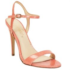 Fergie Roxane Open Toe Strappy Heel #VonMaur #Fergie #Snake
