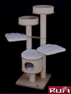 Rufi Drapaki Exclusive klimmeubel EX-7A Quality Cat – klimmeubelen & krabpalen van Pussicat ,online winkel voor een kattenklimpaal of klimmeubel