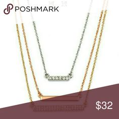 Crystal Necklace Set Earrings included Jewelry Necklaces