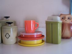 I remember when my mom first got this stuff at a Tupperware party!