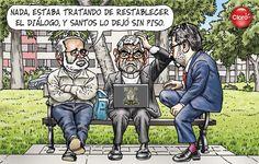 Carlincatura del domingo 19 de agosto, del 2012.