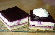 Blueberry pie with delicious cream Top-Rezepte. Easy Vanilla Cake Recipe, Easy Cake Recipes, Sweet Recipes, Salty Snacks, Cake Toppings, Coffee Cake, Hungarian Recipes, No Bake Cake, Fun Desserts