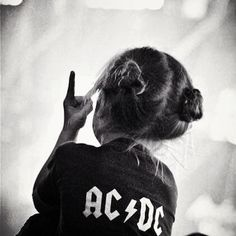 if i ever had a child this is what she would be  little rock star